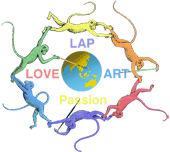 Logo of www.Loveartpassion.com Artist Chris Staebler